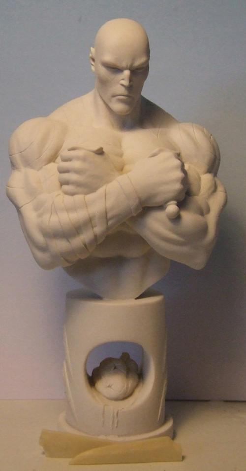L'atelier de bruno : Drax sculpté par Ydol. Drax10