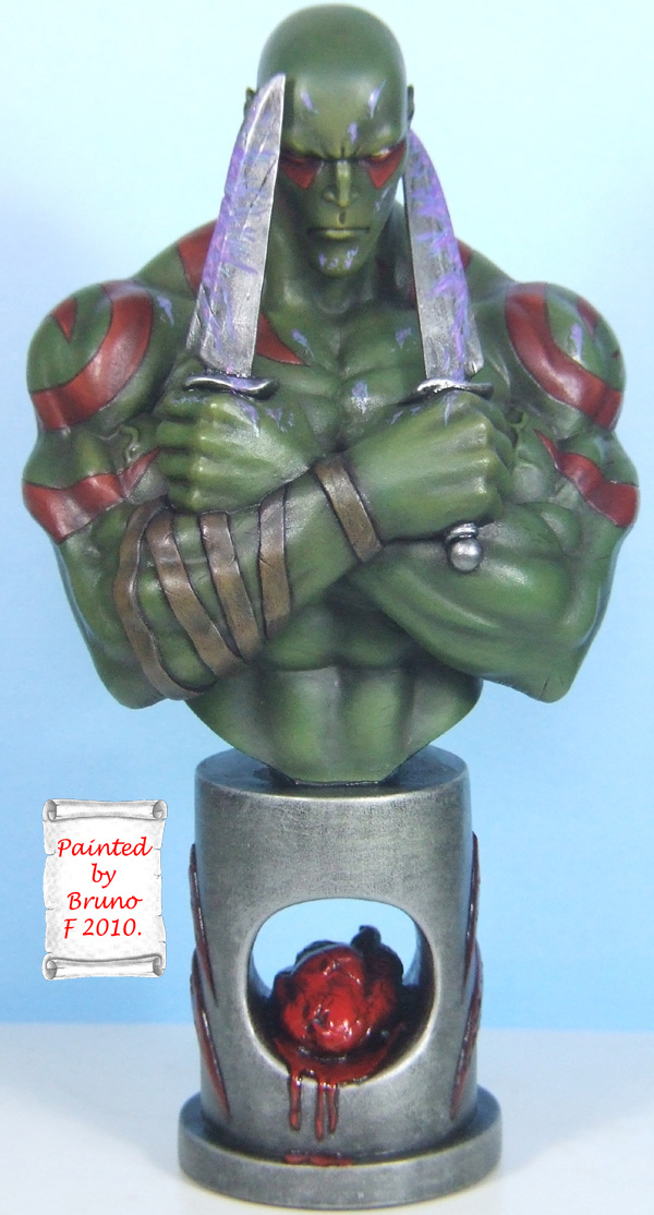 L'atelier de bruno : Drax sculpté par Ydol. Drax_110