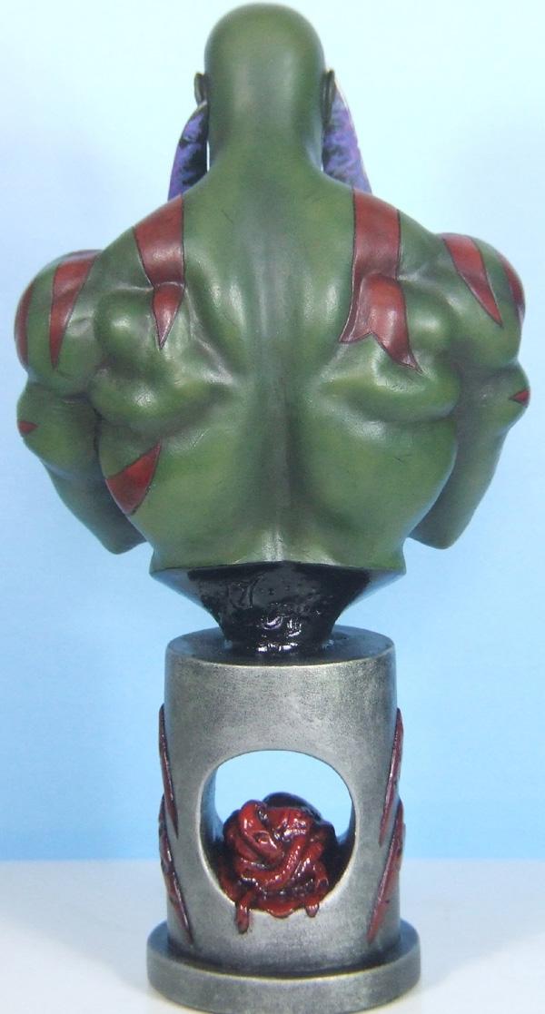 L'atelier de bruno : Drax sculpté par Ydol. Drax_210