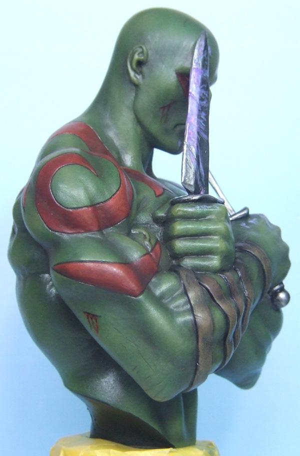 L'atelier de bruno : Drax sculpté par Ydol. Drax_410