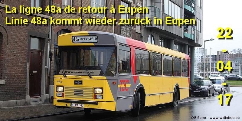 [Excursion] La ligne 48a de retour à Eupen - Linie 48a kommt wieder zurück in Eupen 2017_011