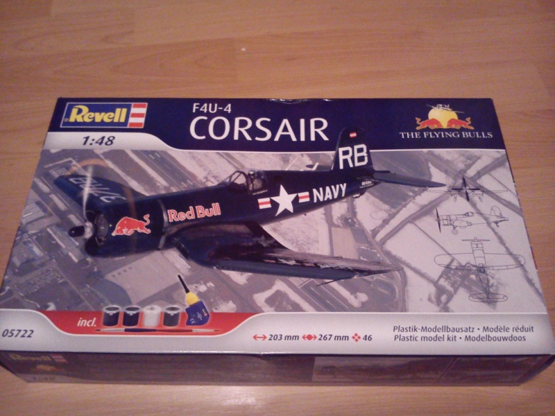 "Revell F4U-4 Corsair ""The Flying Bulls"" 1:48 Dsc_0428"