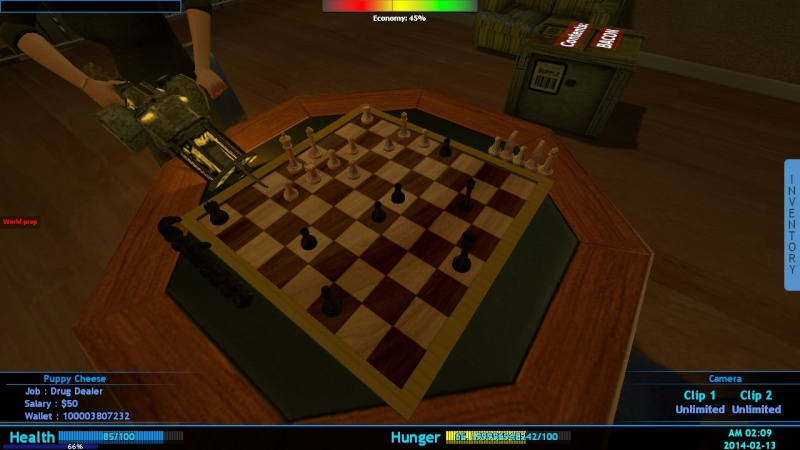 The stages of building our server XD Chess10