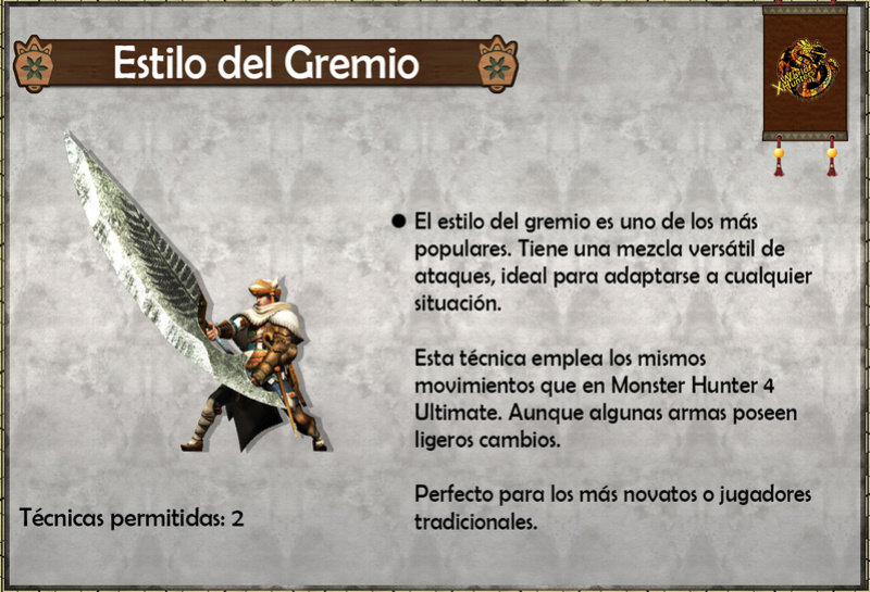 Estilos de Caza - Monster Hunter Generations (X) Estilo10