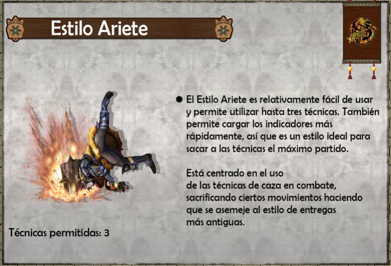 Estilos de Caza - Monster Hunter Generations (X) Estilo12