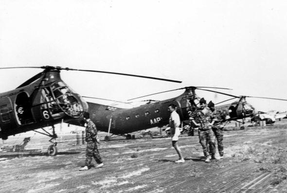 "Helicoptère de rotor double ""Banane"" Captur12"