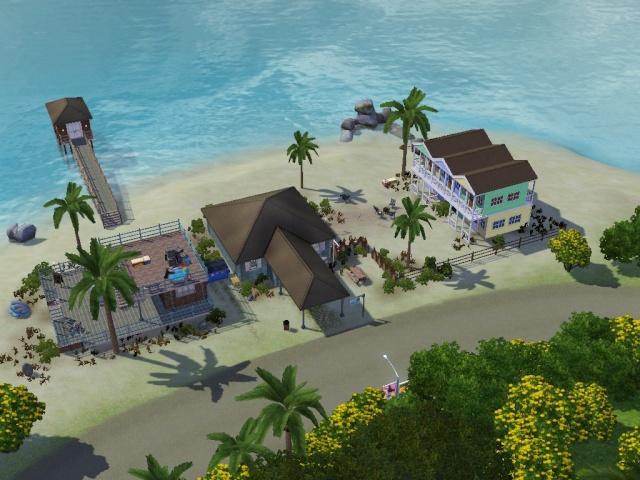 """[Fotos] Mi Casa y Hotel """"Complejo Turistico""""  (Aventuras en la isla) 2hrda210"""