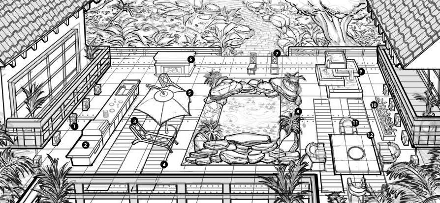 """[Noticia] Imágenes conceptuales de """"Y las cuatro estaciones"""" """"Patios y jardines"""" """"Al Simhara"""" Captur10"""