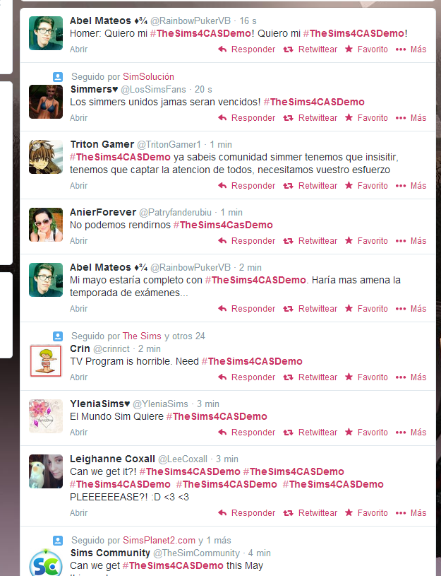 [Tus cosas] Usa el hashtag #TheSims4CASDemo  Captur16