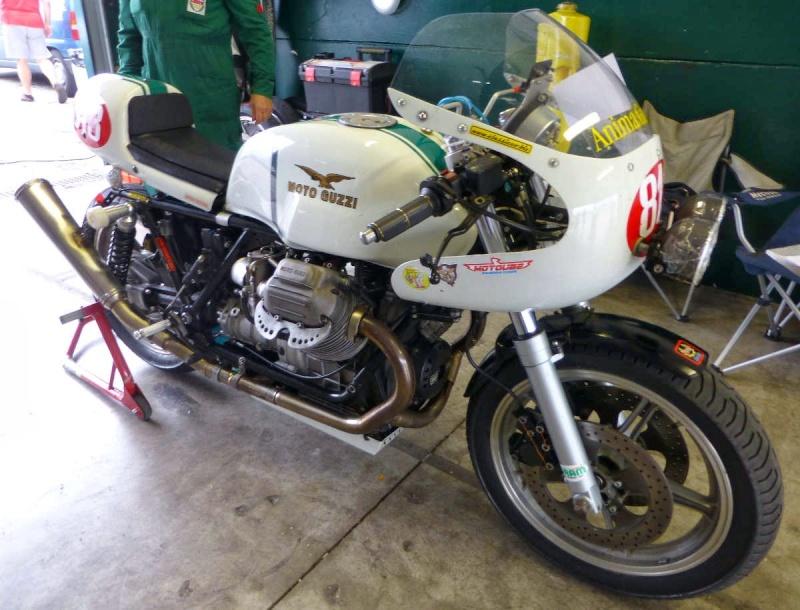 Guzzi... juste l'essentiel des Café Racer - Page 40 Misano30