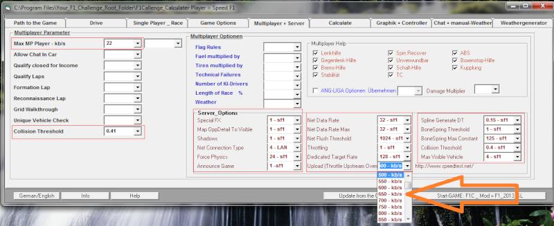 F1 Calculator - Software Anti-Lag para F1 Challenge 99-02 611