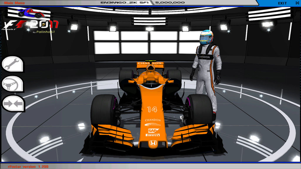 rFactor F1 2017 MOD V3 by Palinho Download  Rfacto14