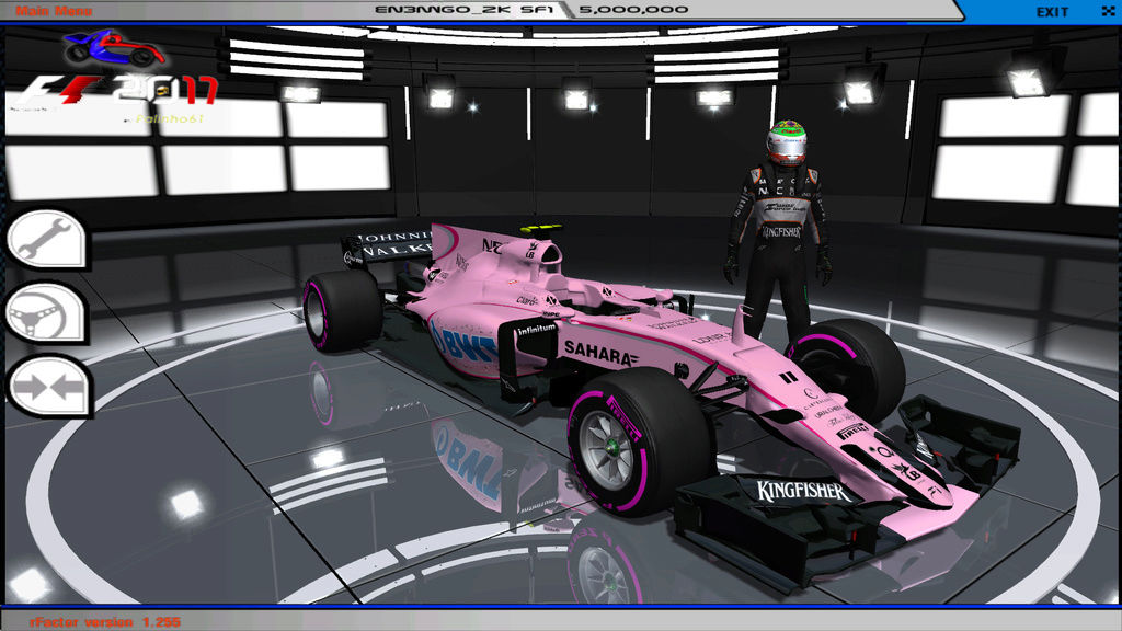 rFactor F1 2017 MOD V3 by Palinho Download  Rfacto15