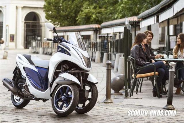 Le Tricity de Yamaha Yamaha10