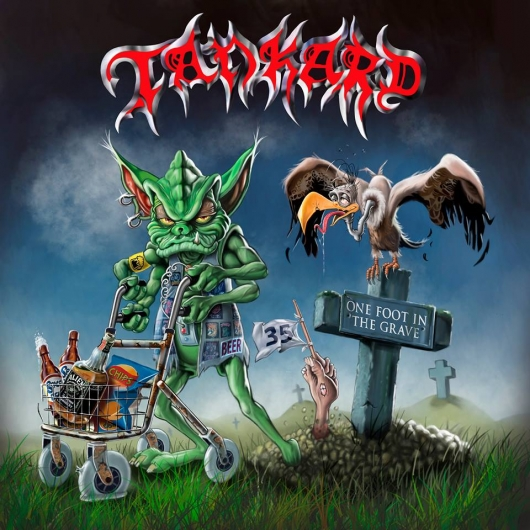TANKARD One Foot In The Grave (2017) Thrash ALLEMAGNE  56978k10