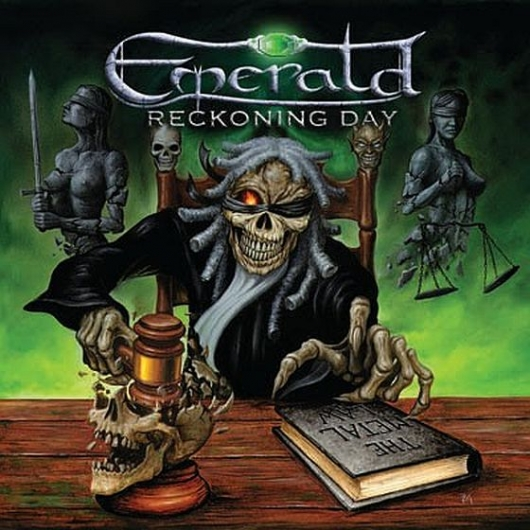"""EMERALD  """"Reckoning Day""""  (Heavy Metal 2017) Emeral10"""