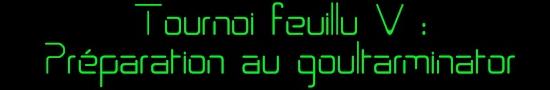 Présentation et Règlement du Tournoi !