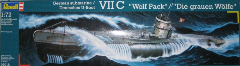 Revell 05015 German Submarine VII C Wolf Pack 05015r10