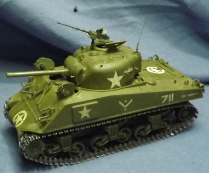 M4 A3 CALIOPE (italeri 1/35 ) sauvé de la destruction Ancien10