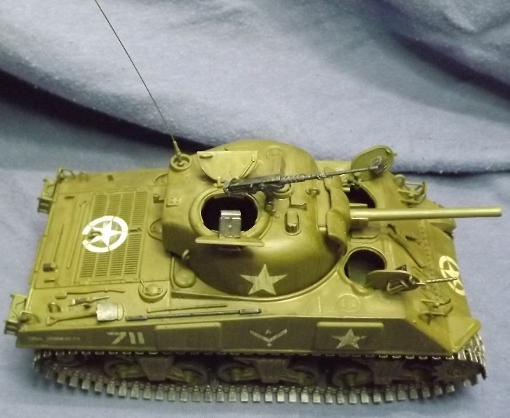 M4 A3 CALIOPE (italeri 1/35 ) sauvé de la destruction Ancien13