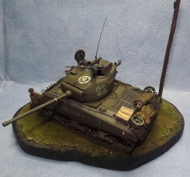 italeri  M4 A3 (76) Coup_d11