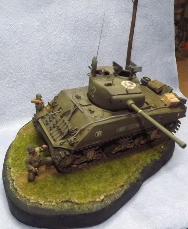 italeri  M4 A3 (76) Coup_d12