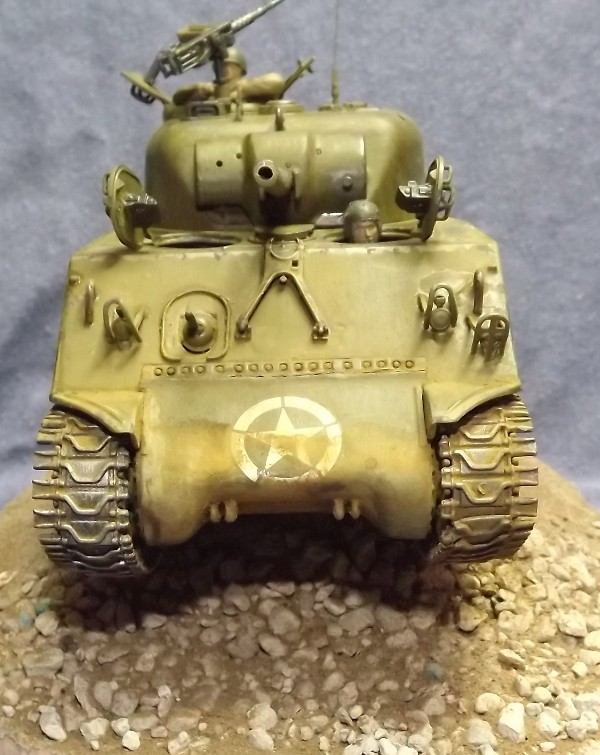 M4 A3 CALIOPE (italeri 1/35 ) sauvé de la destruction Dio_212