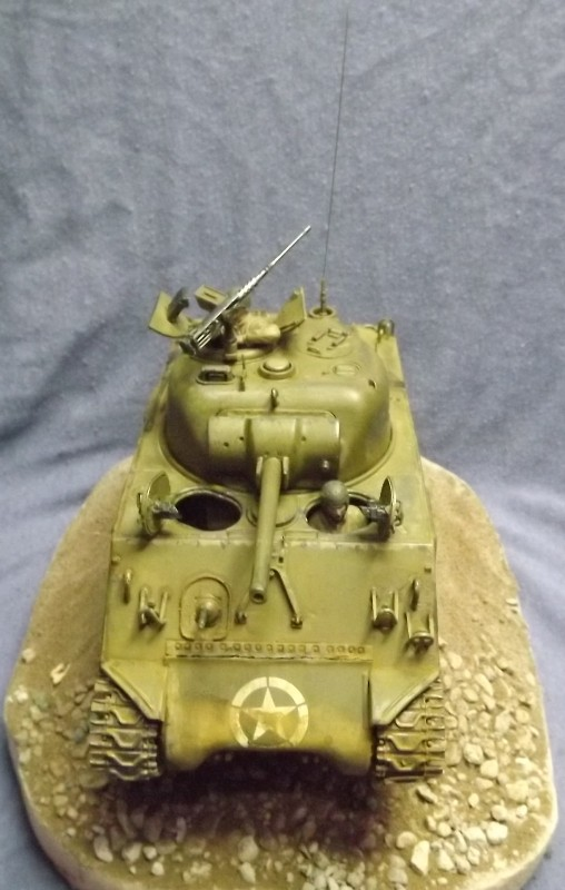 M4 A3 CALIOPE (italeri 1/35 ) sauvé de la destruction Dio_312