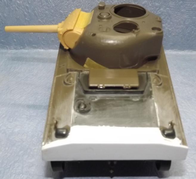 sherman M4 105mm [Italeri, 1/35] Dscf7331