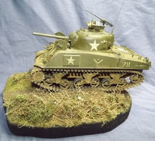 M4 A3 CALIOPE (italeri 1/35 ) sauvé de la destruction Dscf7768