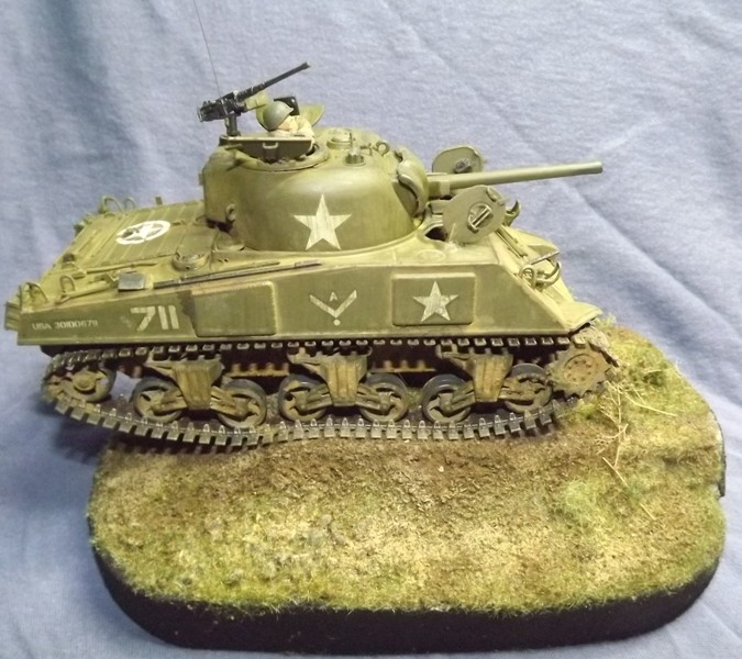 M4 A3 CALIOPE (italeri 1/35 ) sauvé de la destruction Dscf7770
