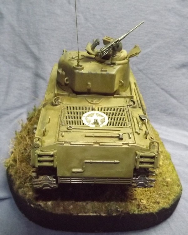 M4 A3 CALIOPE (italeri 1/35 ) sauvé de la destruction Dscf7810