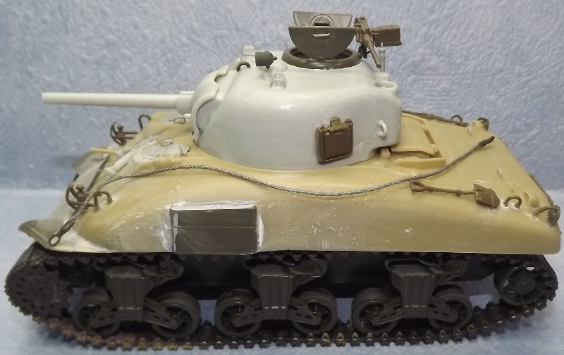 M4 A1 LATE caisse verlinden chassie italeri train academy tourelle verlinden .. - Page 2 Finiti11