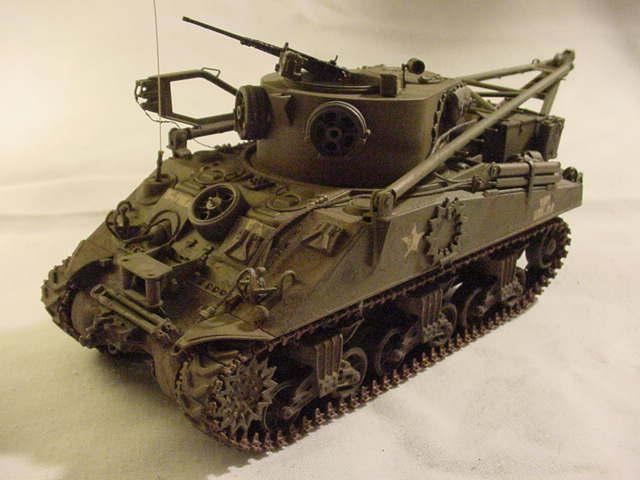 M32-B2 basse M4A2  academy M32-110