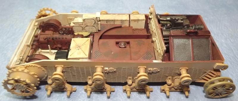 PZ IVJ tamiya + interieur trumpeter (Bergepanzer IV) 1/35 - Page 2 Patine11