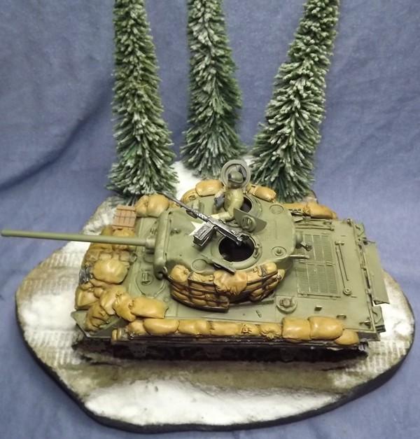 M4A3, Ardennes 1944 [DRAGON , 1/35 + ajout Legend] Patine30
