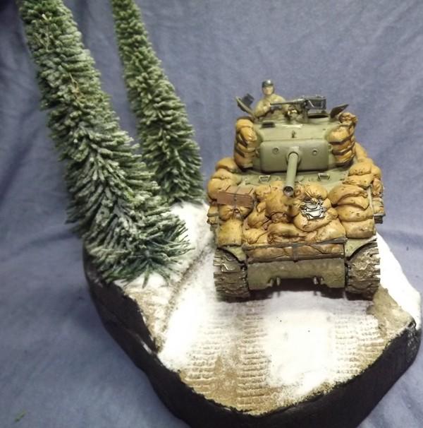 M4A3, Ardennes 1944 [DRAGON , 1/35 + ajout Legend] Patine31
