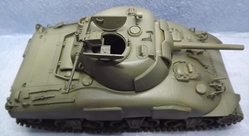 M4 A1 LATE caisse verlinden chassie italeri train academy tourelle verlinden .. - Page 2 Peintu33