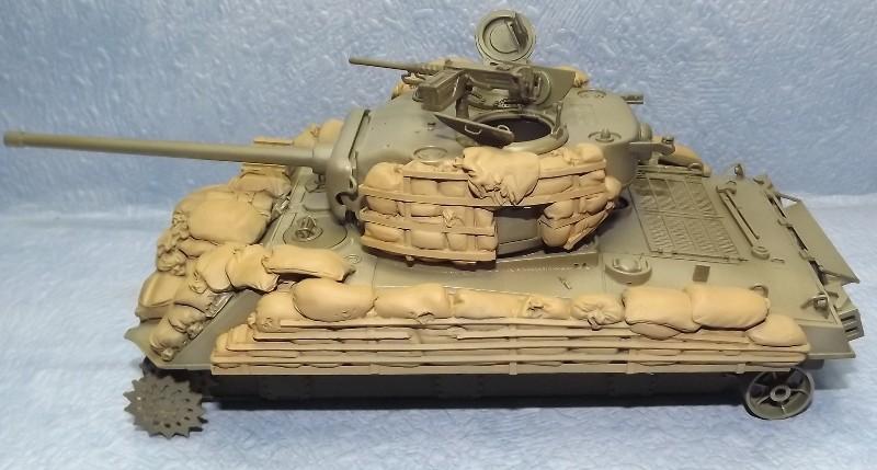 M4A3, Ardennes 1944 [DRAGON , 1/35 + ajout Legend] Peintu35