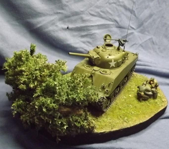 sherman M4 105mm [Italeri, 1/35] - Page 2 Peintu45