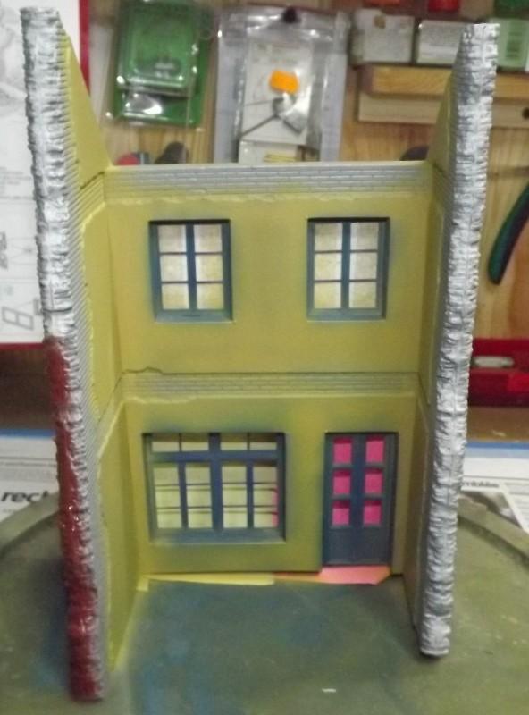 peinture maison mini art.... Peintu57