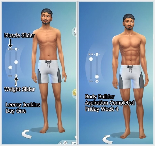 Puny to Powerful TS4Fitness Mini Challenge Leeroy14