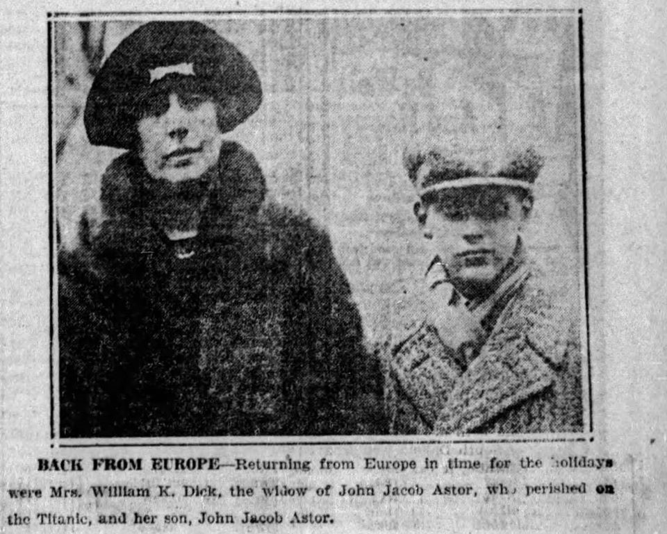 John Jacob Astor VI [fils de John Jacob Astor] Astor210