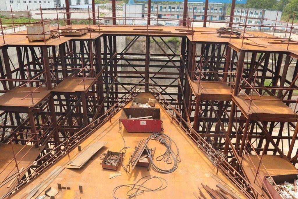 Construction d'une réplique du Titanic en Chine - Page 7 Chine110
