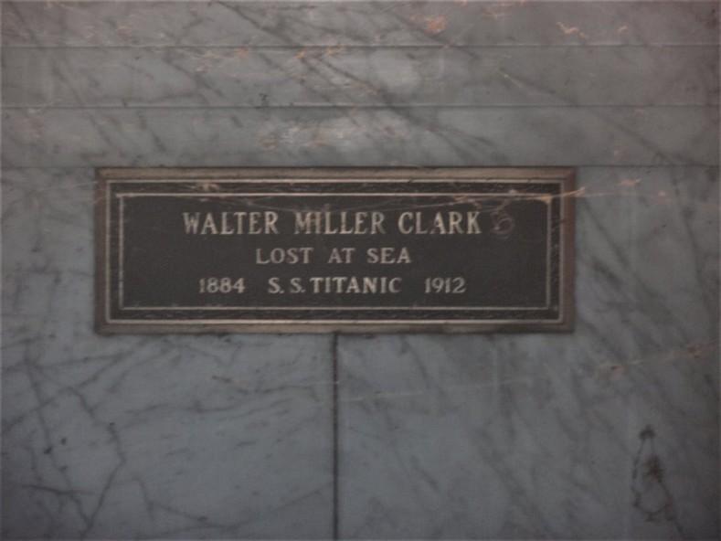 Walter Miller Clark et Virginia Estelle McDowell Clark410
