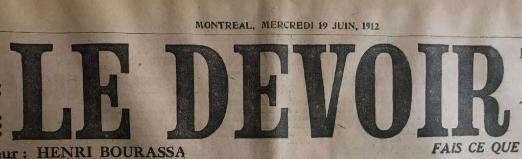 Le naufrage du Titanic fait la une des journaux - Page 11 Devoi531