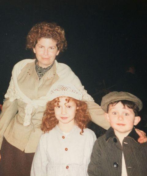 La famille irlandaise : la maman et ses deux enfants Irish10