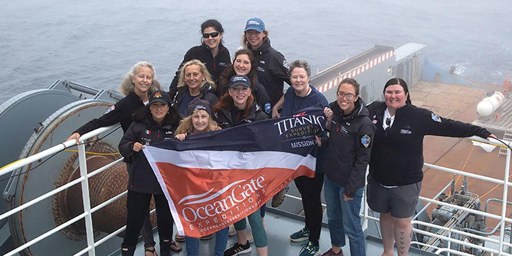 Les expéditions avec Ocean Gate - Page 4 Ladies10