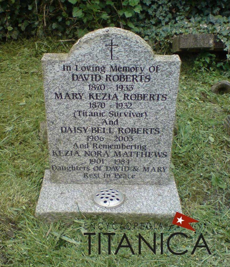 Mary Kezia Roberts [Femme de chambre de 1ère classe] Maryro11