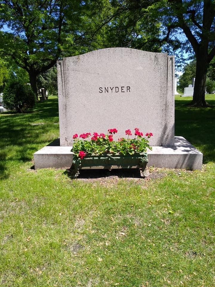 John et Nelle Snyder Snyder10